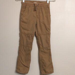 CAT&JACK Boy's Cotton Lined Cargo Pants